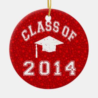 Class Of 2014 Graduation Christmas Tree Ornaments