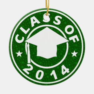 Class Of 2014 Graduation Christmas Ornament