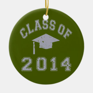 Class Of 2014 Graduation - Grey Christmas Tree Ornament