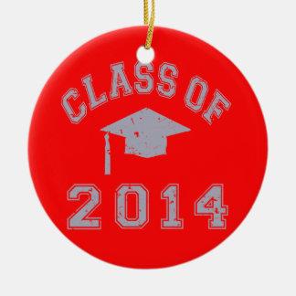 Class Of 2014 Graduation - Grey Christmas Ornaments