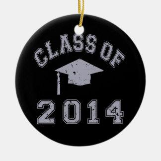 Class Of 2014 Graduation - Grey Ornament