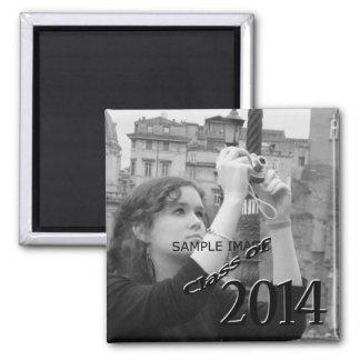 Class of 2014 Graduation Photo Create Your Own Fridge Magnet