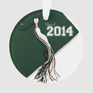 Class of 2014 Green Graduation Cap