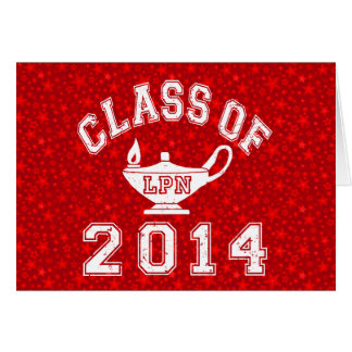 Class Of 2014 LPN Stationery Note Card