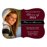 Class of 2014 Maroon Graduation Invitation