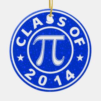 Class Of 2014 Math Round Ceramic Decoration