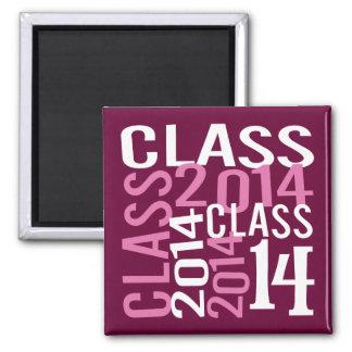 Class of 2014 refrigerator magnet
