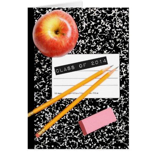 Class of 2014 School Supply Cards