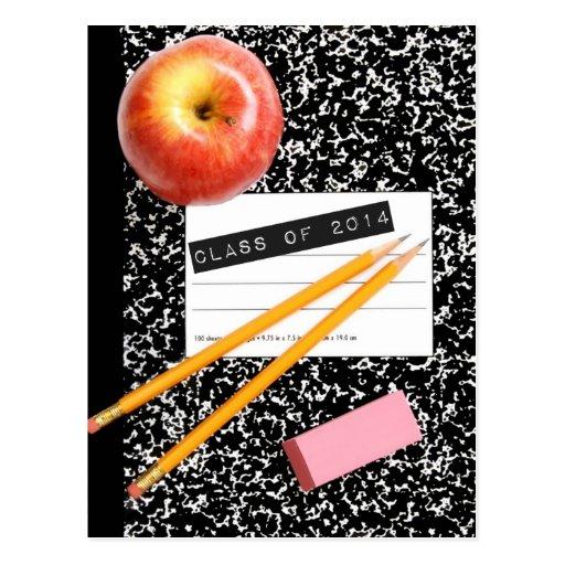 Class of 2014 School Supply Post Card
