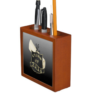 Class of 2014 Shield and Diploma Desk Organiser