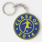 Class Of 2014 Soccer Key Ring