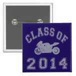 Class Of 2014 Superbike - Grey 2 Pinback Buttons