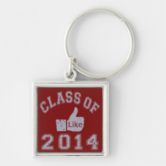 Class Of 2014 Thumbs Up Keychains