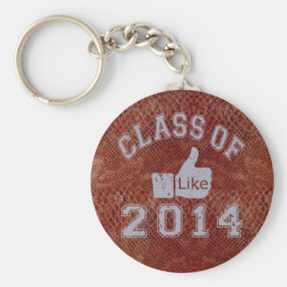 Class Of 2014 Thumbs Up Key Chain