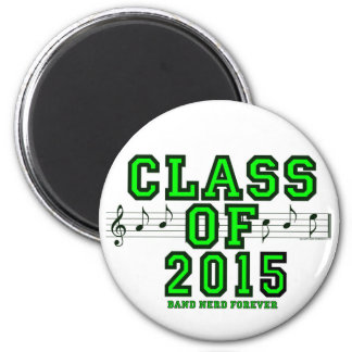 Class Of 2015 6 Cm Round Magnet