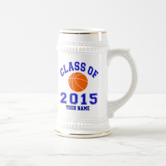 Class of 2015 Basketball Beer Stein