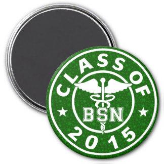 Class Of 2015 BSN 7.5 Cm Round Magnet