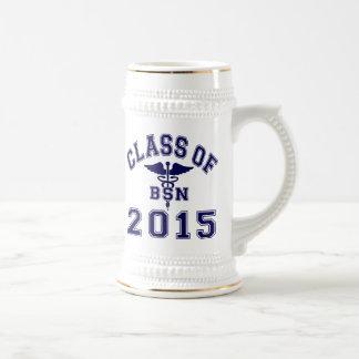 Class Of 2015 BSN Beer Steins