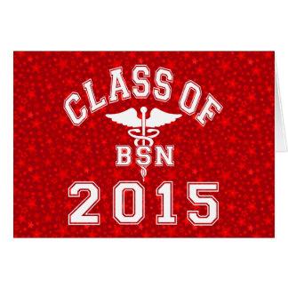 Class Of 2015 BSN Note Card