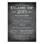 Class of 2015 chalkboard graduation party invite 13 cm x 18 cm invitation card
