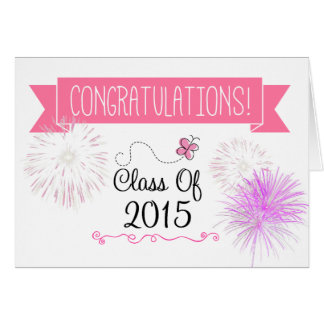 Class of 2015 Graduation Card (for her)