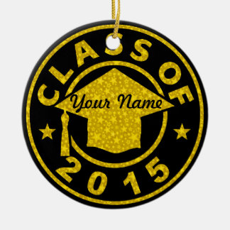 Class Of 2015 Graduation Christmas Ornaments