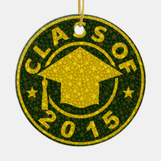 Class Of 2015 Graduation Christmas Tree Ornaments