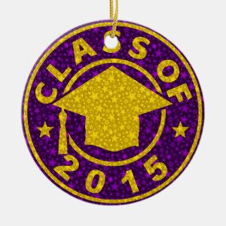 Class Of 2015 Graduation Ornaments