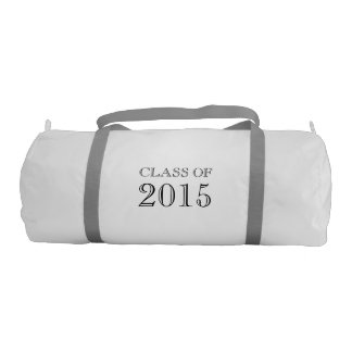 Class of 2015 Graduation Gift Gym Duffel Bag