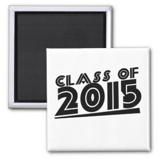 Class of 2015 2 inch square magnet