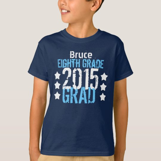 Class of 2015 or Any Year 8th Grade New Grad V9H T-Shirt