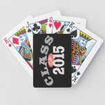 Class Of 2015 Peach Bicycle Card Deck