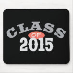 Class Of 2015 Peach Mouse Pads