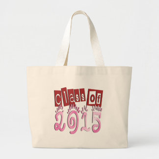 Class OF 2015 Canvas Bags