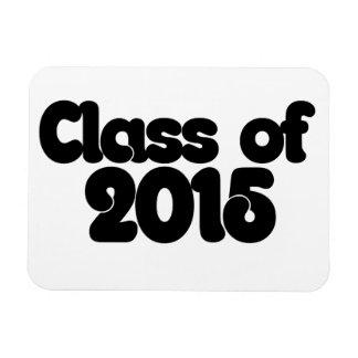 Class of 2015 vinyl magnet