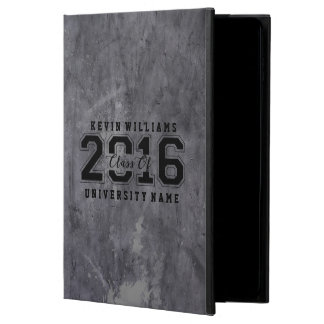 Class Of 2016 Black Text Gray Metallic Texture