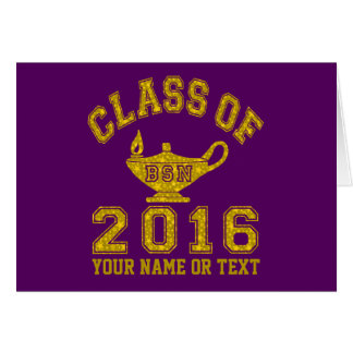 Class of 2016 BSN Note Card