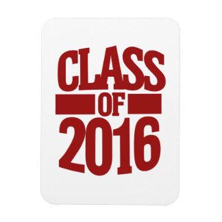 Class of 2016 rectangular photo magnet