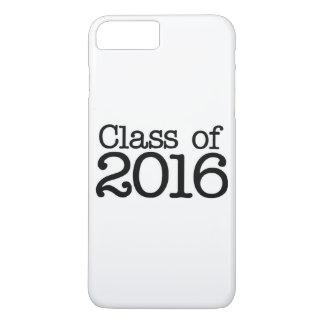 Class of 2016 graduation party iPhone 7 plus case
