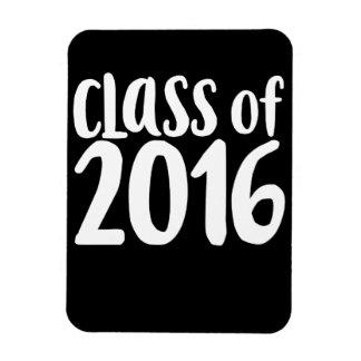 Class of 2016 graduation party rectangular photo magnet