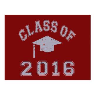 Class of 2016 Graduation Postcard