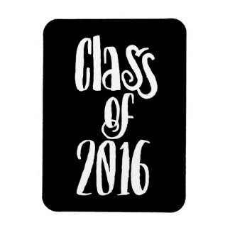 Class of 2016 graduation rectangular photo magnet
