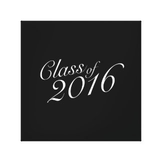 Class of 2016 High School Graduate Canvas Prints