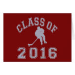 Class Of 2016 Hockey Note Card