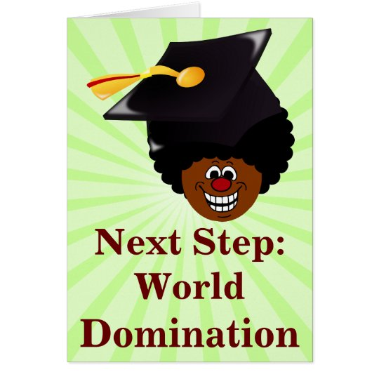 Class of 2016 Seniors World Domination Note Card