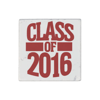 Class of 2016 stone magnet