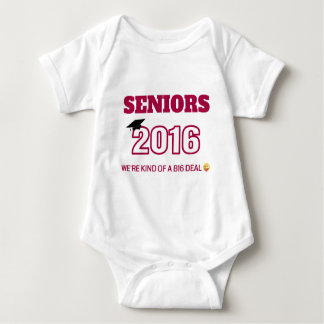 Class of 2016 - We're kind of a B16 deal Baby Bodysuit