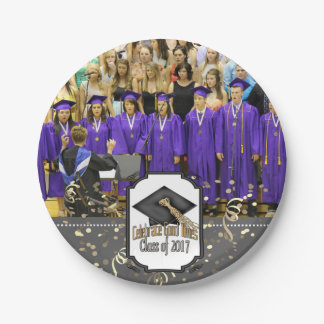 Class of 2017 Celebrate Good Times Graduation Gift 7 Inch Paper Plate