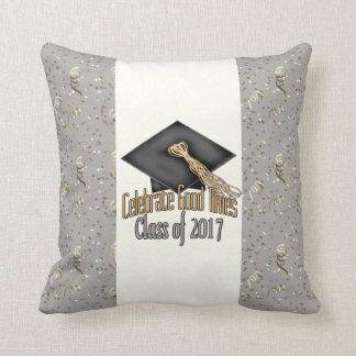 Class of 2017 Celebrate Good Times Graduation Gift Cushion