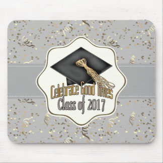 Class of 2017 Celebrate Good Times Graduation Gift Mouse Pad